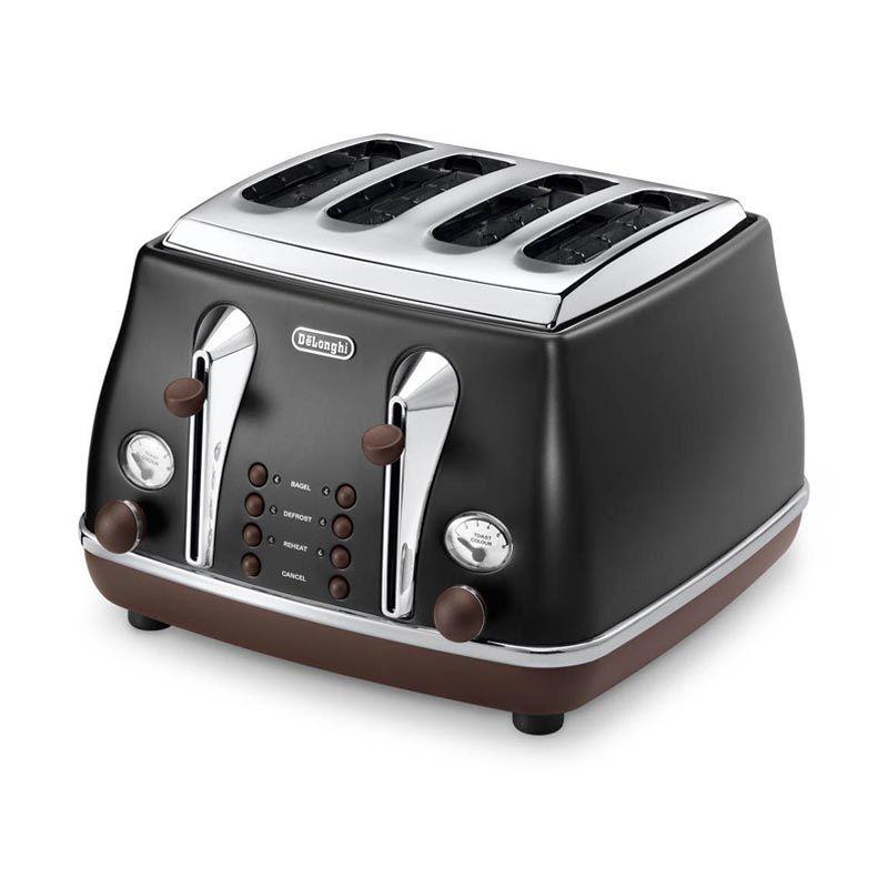 Delonghi-Icona Vintage-Toaster-CTOV4003.BK