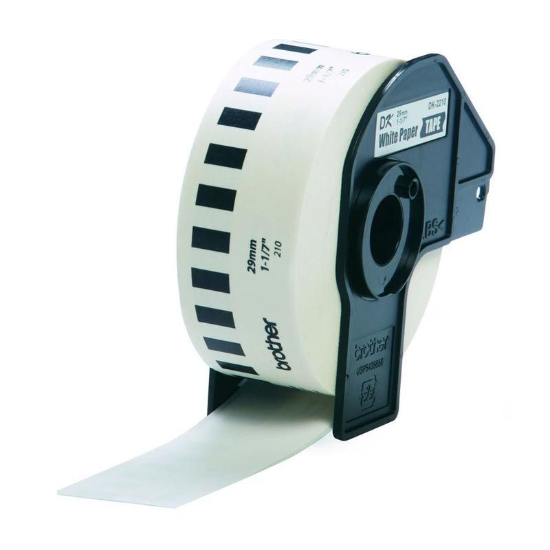 Brother Label Tape Continuous Length Paper DK-22210 Label [29 mm]