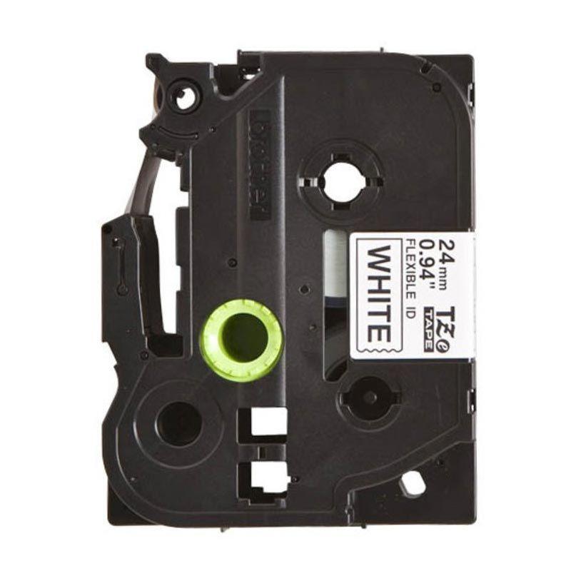 Brother Label Tape Flexible TZE-FX251 Black On White Pita Printer [24 mm]