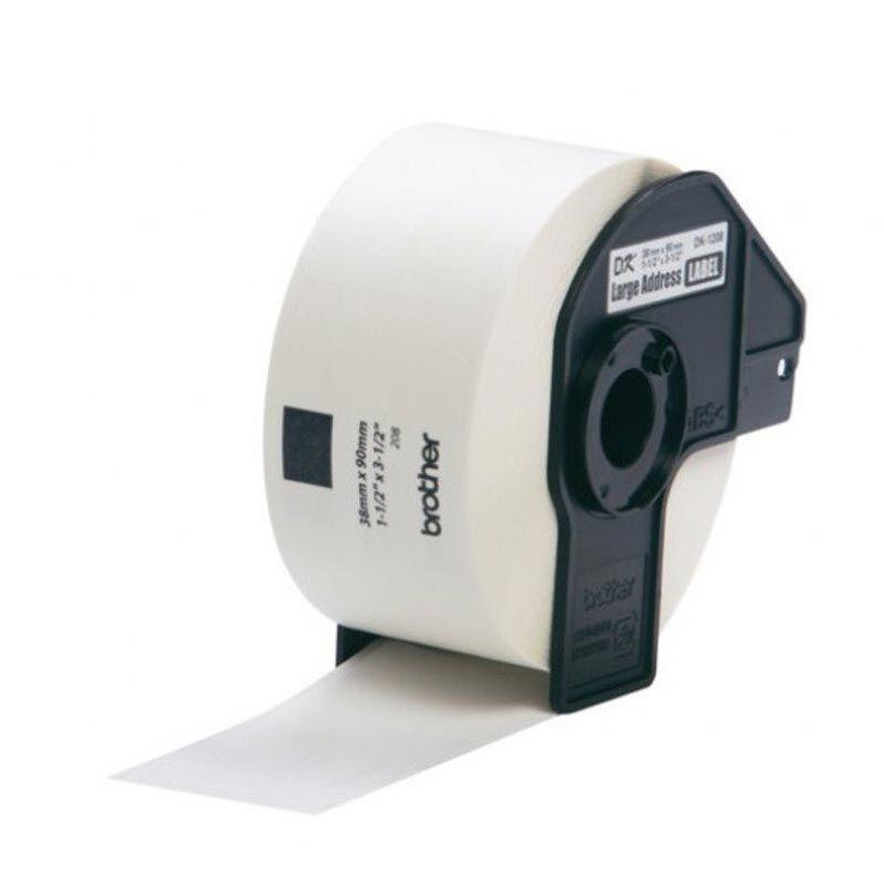 Brother Label Tape Large Address DK-11208 Label [38 mm x 90 mm]