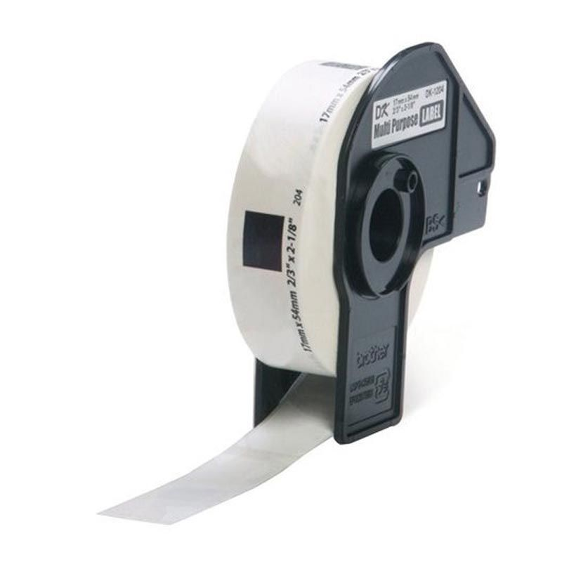 Brother Label Tape Multi Purpose DK-11204 Label [17 mm x 54 mm]
