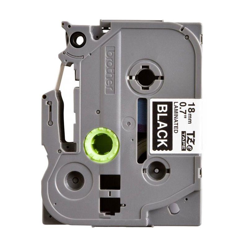 Brother Label Tape TZE-345 White On Black Pita Printer [18 mm]