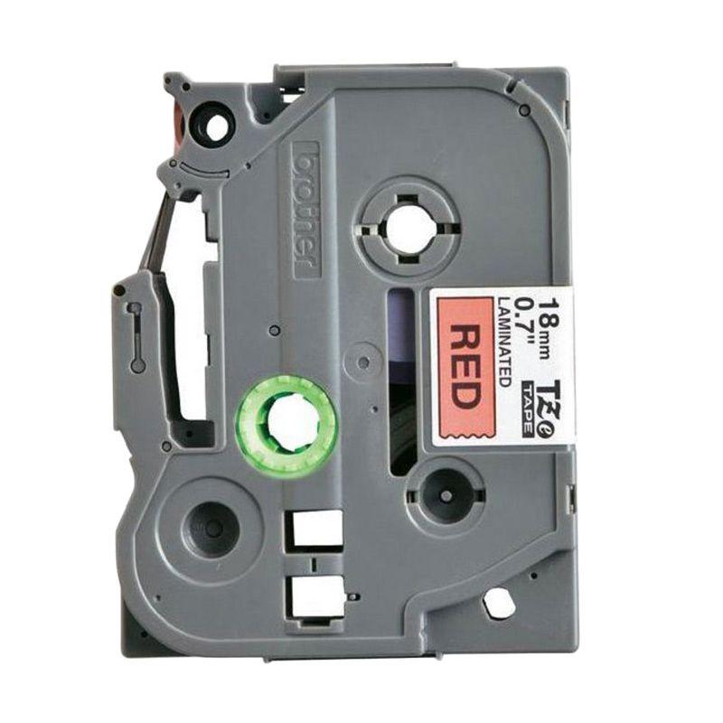 Brother Label Tape TZE-441 Black on Red Pita Printer [18 mm]