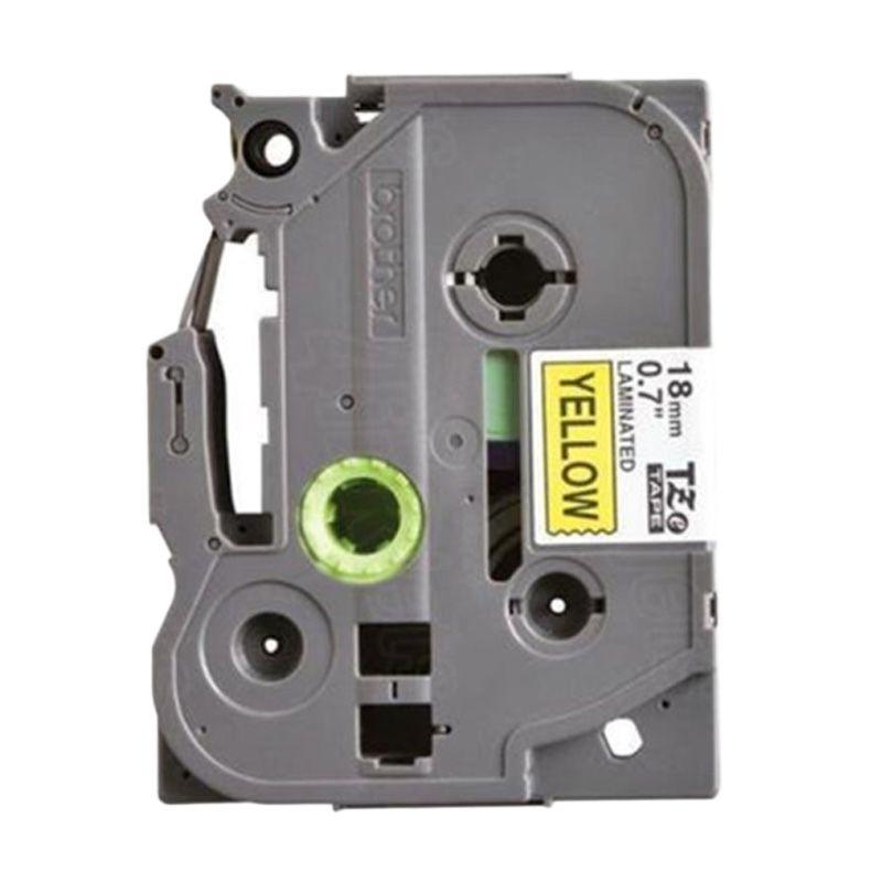 Brother Label Tape TZE-641 Black On Yellow Pita Printer [18 mm]