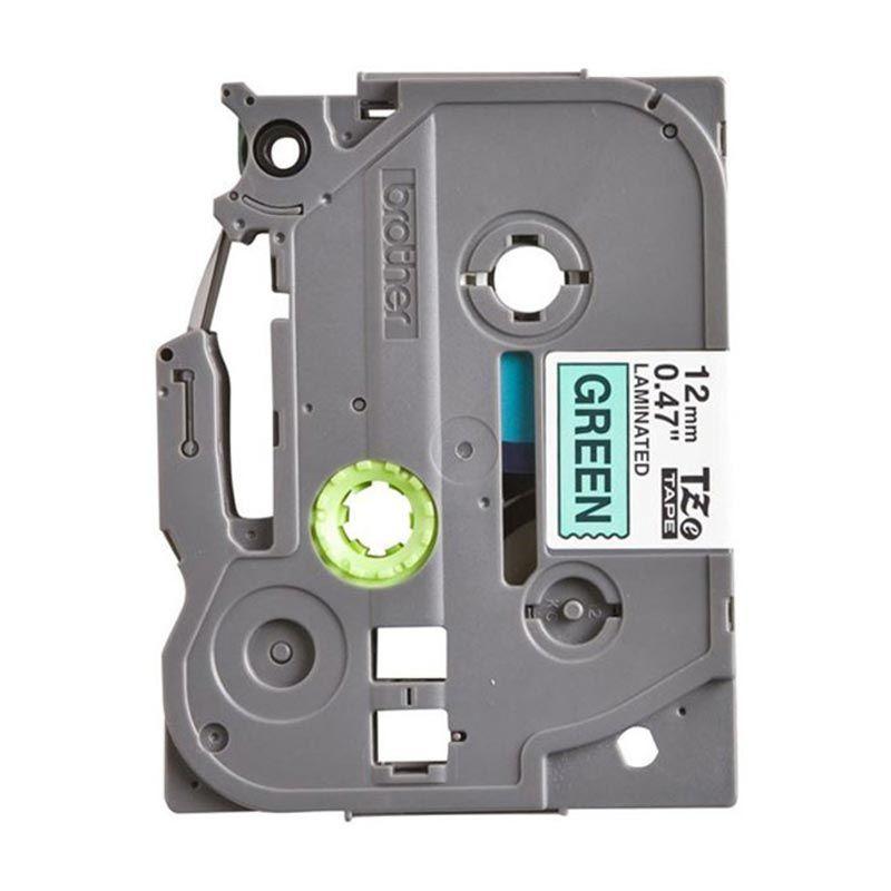 Brother Label Tape TZE-731 Black On Green Pita Printer [12 mm]