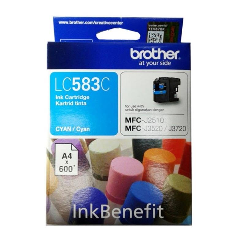 Brother LC-583 Cyan Ink Cartridge