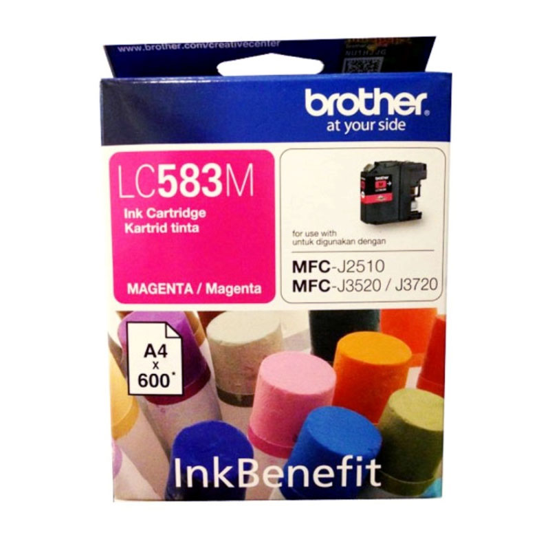 Brother LC-583 Magenta Ink Cartridge