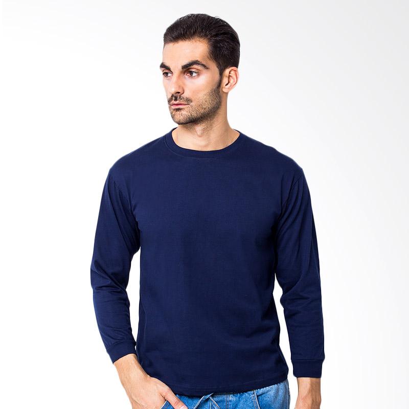 Browncola Long Sleeves Atasan Pria - Navy Blue Extra diskon 7% setiap hari Citibank – lebih hemat 10% Extra diskon 5% setiap hari