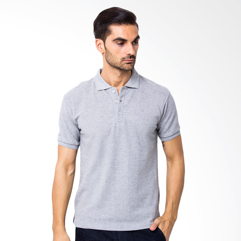 Browncola Polo Shirt Pria - Abu Misty Muda Extra diskon 7% setiap hari Extra diskon 5% setiap hari Citibank – lebih hemat 10%