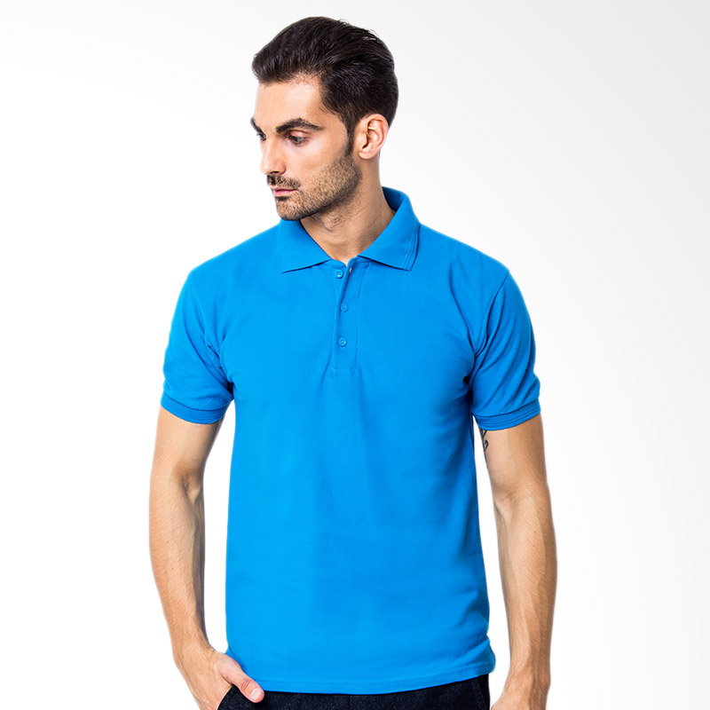 Browncola Polo Shirt - Blue Torqoise Extra diskon 7% setiap hari Extra diskon 5% setiap hari Citibank – lebih hemat 10%