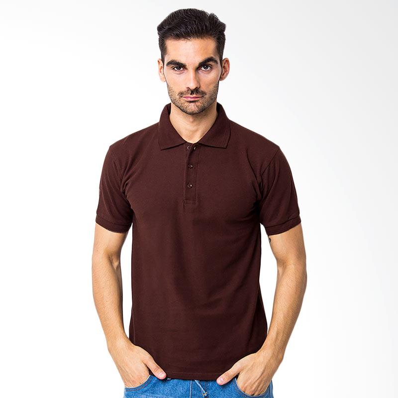 Browncola Polo Shirt - Brown Extra diskon 7% setiap hari Extra diskon 5% setiap hari