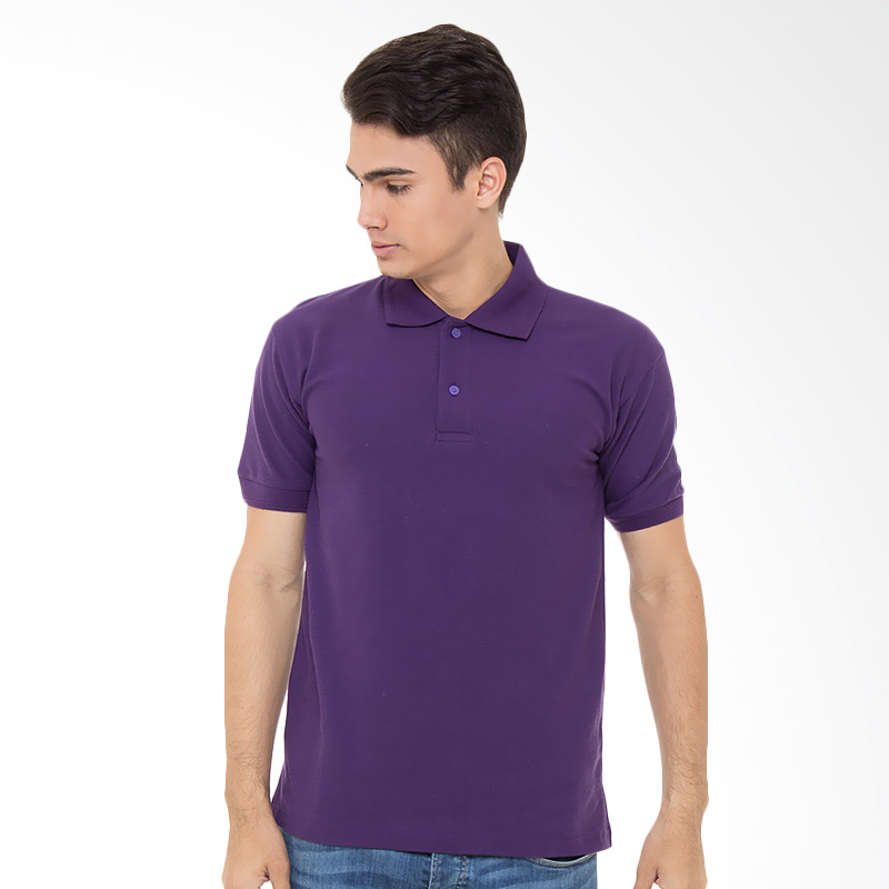 Browncola Polo Shirt - Dark Purple Extra diskon 7% setiap hari Citibank – lebih hemat 10% Extra diskon 5% setiap hari