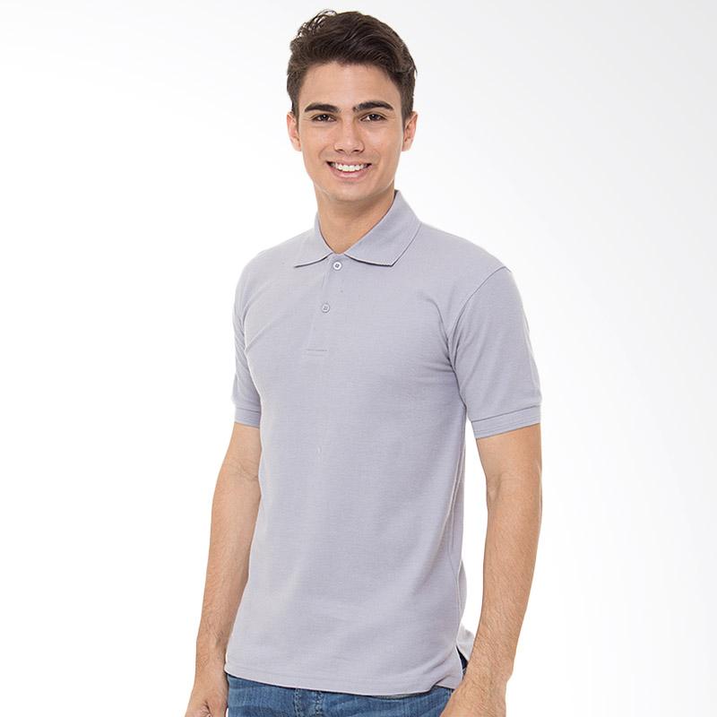 Browncola Polo Shirt Kaos Pria - Light Grey Extra diskon 7% setiap hari Extra diskon 5% setiap hari Citibank – lebih hemat 10%