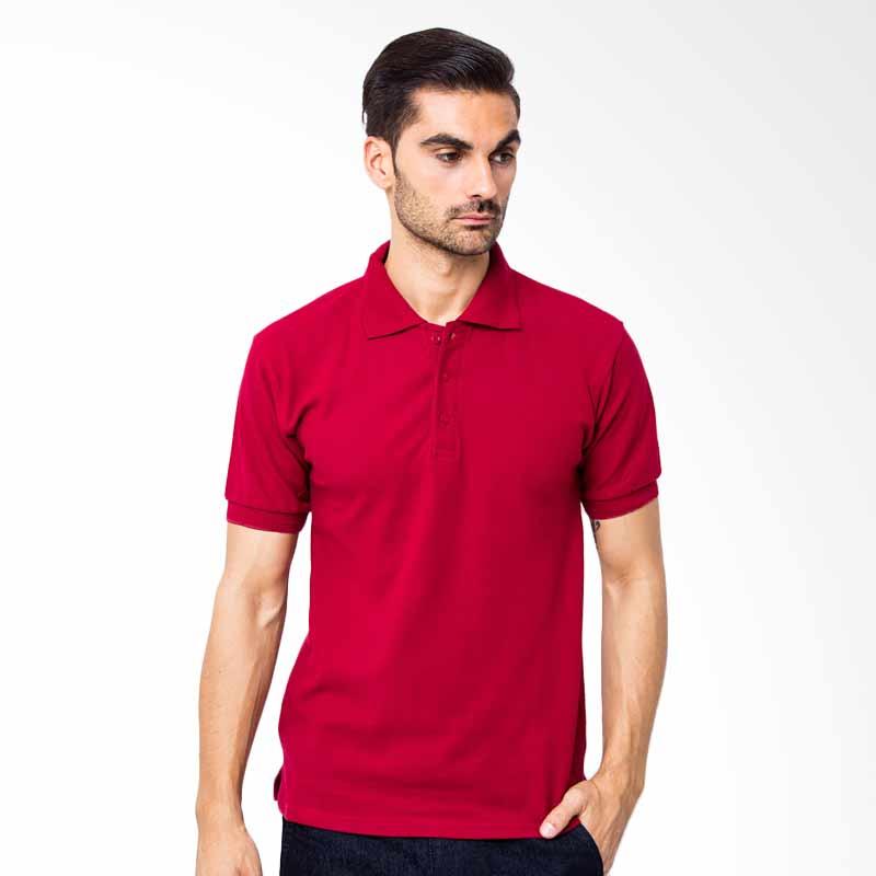 Browncola Polo Shirt - Maroon Extra diskon 7% setiap hari Extra diskon 5% setiap hari Citibank – lebih hemat 10%