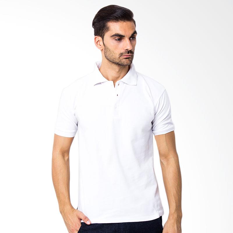 Browncola Polo Shirt Pria - White Extra diskon 7% setiap hari Citibank – lebih hemat 10% Extra diskon 5% setiap hari