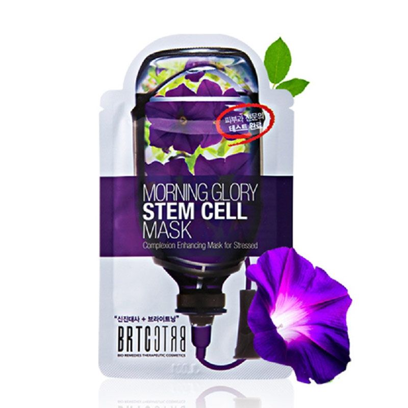 BRTC Morning Glory Stem Cell Mask Masker Wajah
