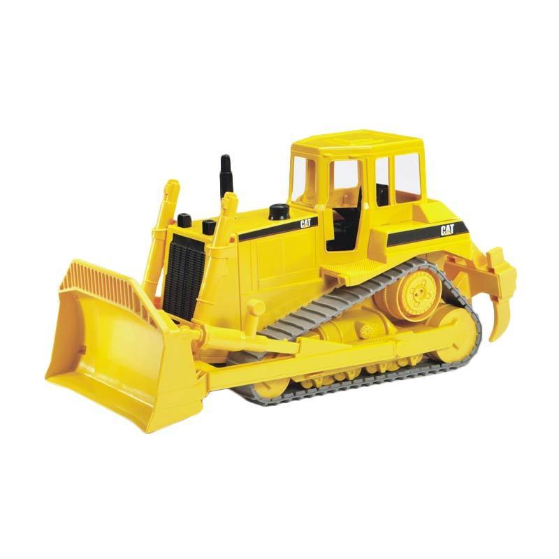 Bruder Toys - Mainan Anak CAT Bulldozer - Kuning