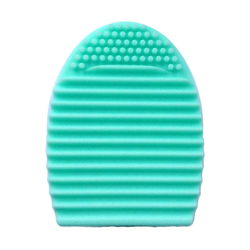 harga Brush Egg Green Pembersih Kuas Make Up Blibli.com