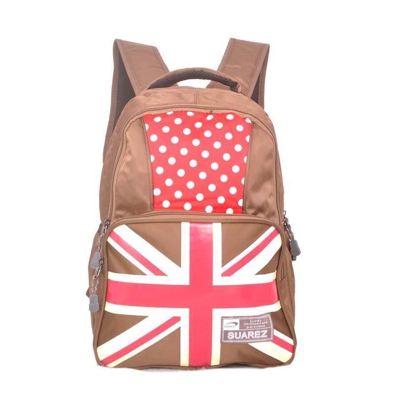 Young Soul Backpack London Aldercy Coklat Tas Ransel