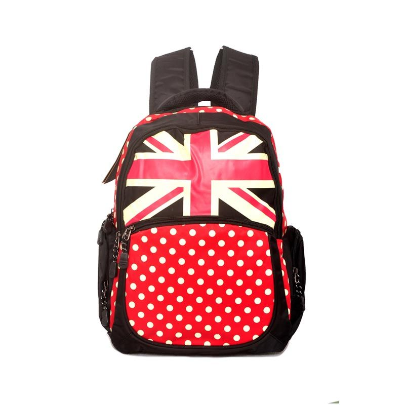 Young Soul Backpack London Milicent Hitam Tas Ransel