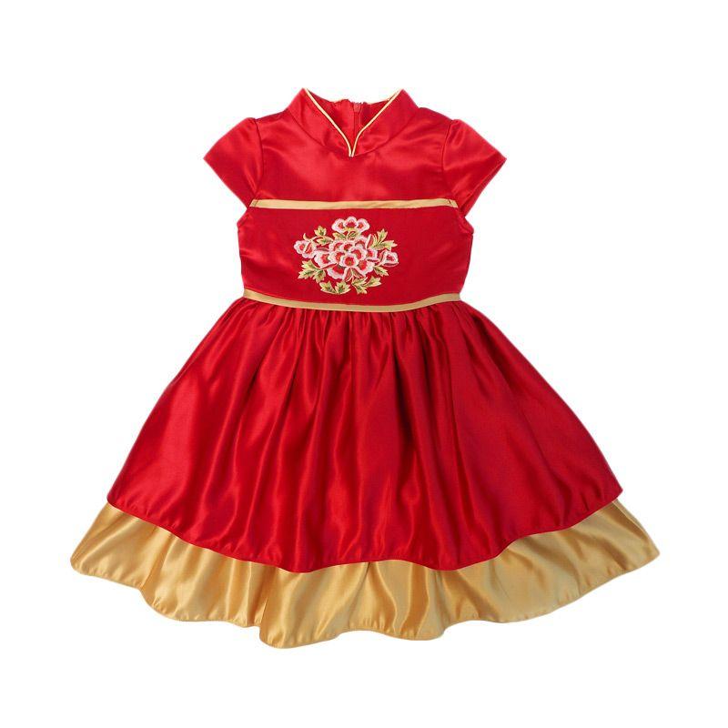 Bubble Girl Cheongsa...Dress Anak