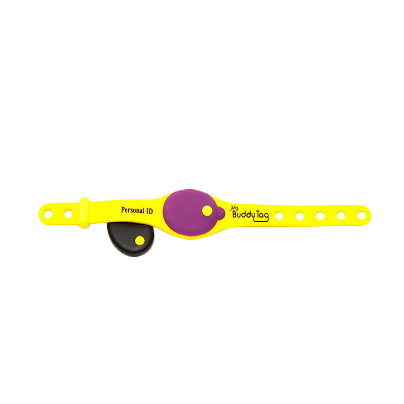 Buddy Tag with Silicone Wristband 110980 Baby Monitor - Yellow