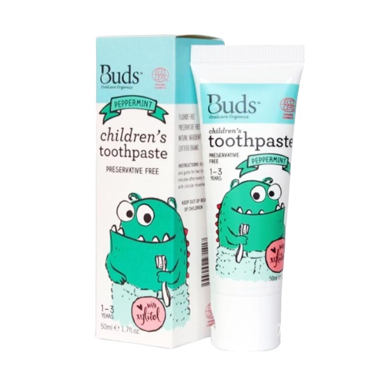 Buds Children's Toothpaste - Peppermint [1 - 3 Tahun]