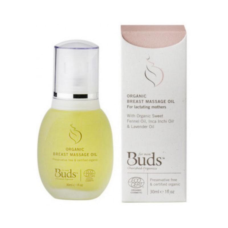 Buds Organic Breast Massage Oil