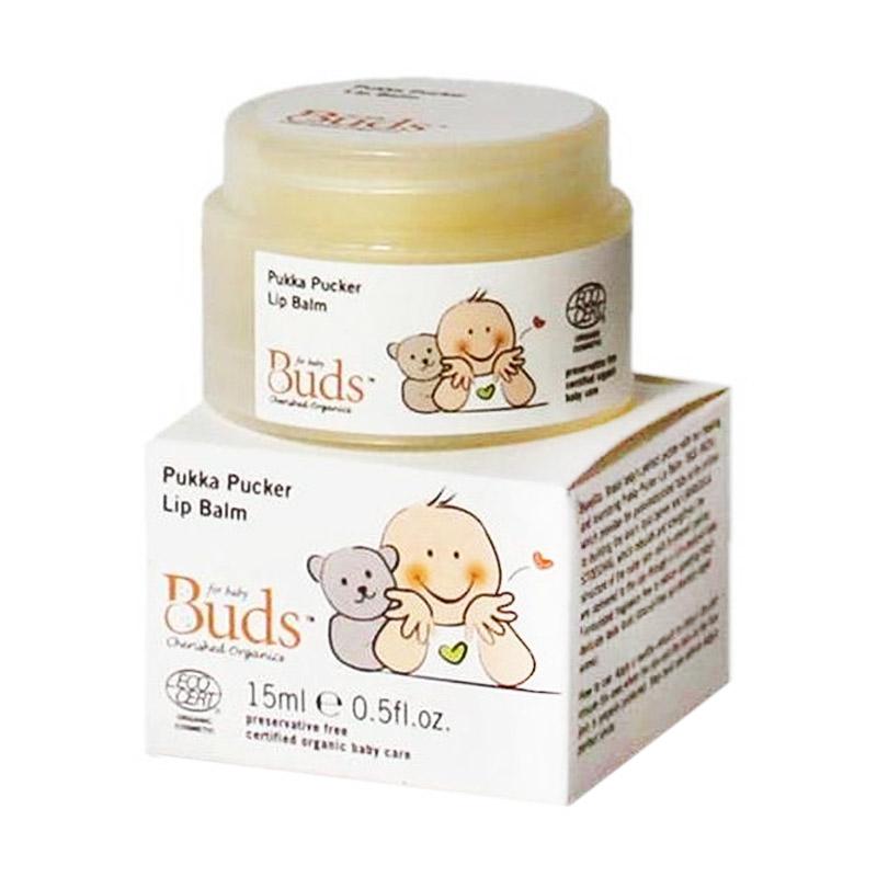 Buds Organic Pukka Pucker Lip Balm [15ml]