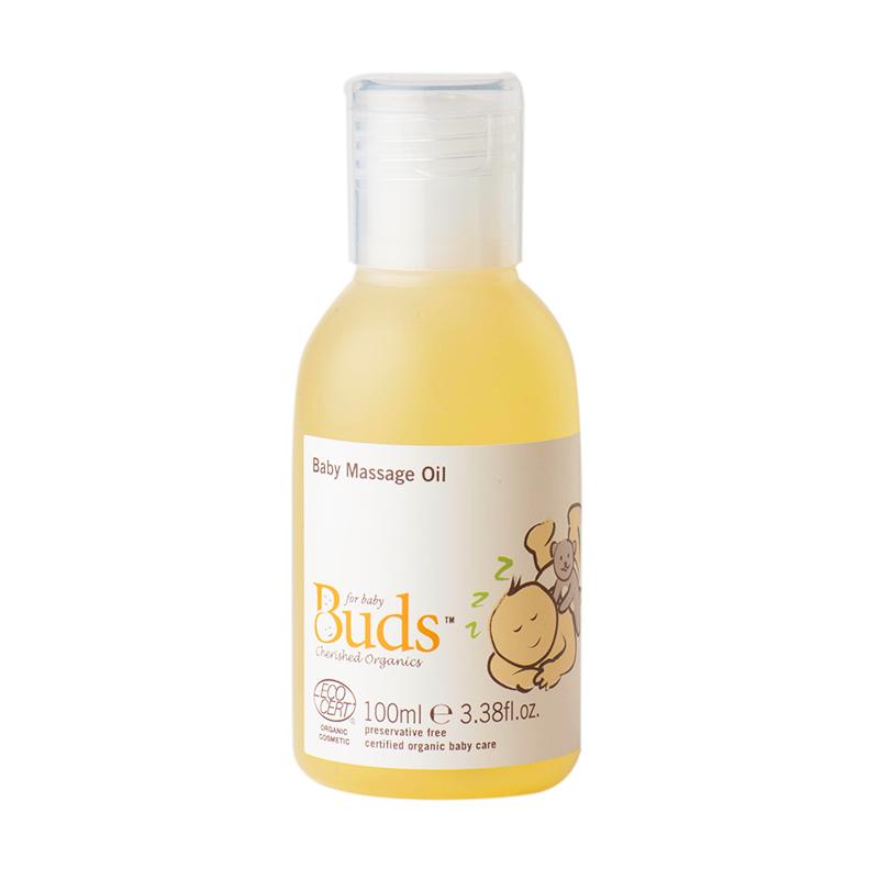 Buds Organics - Baby Massage Oil - Minyak Bayi Organik