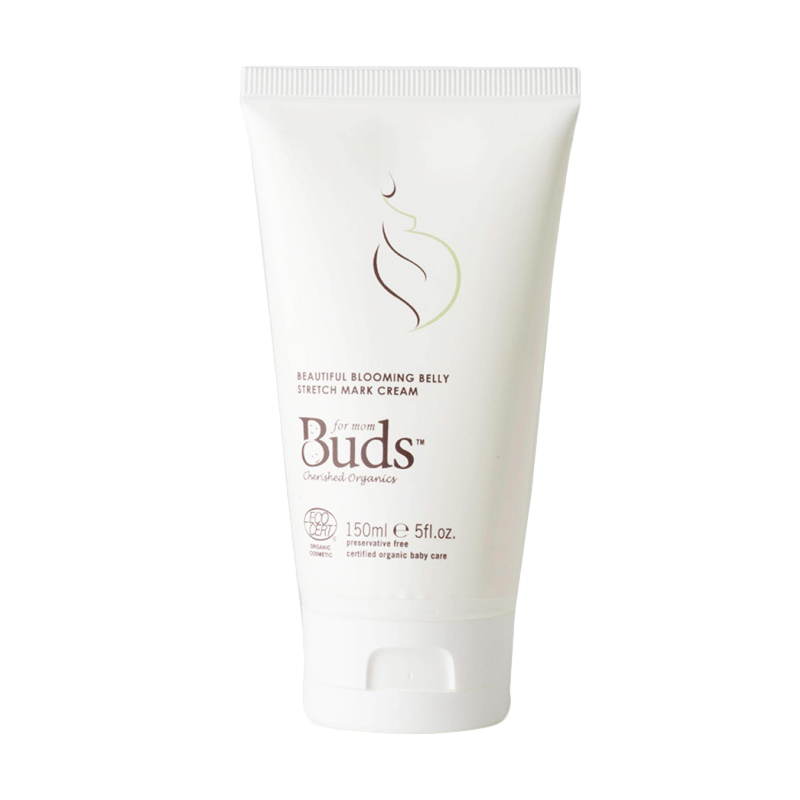 Buds Organics - Beautiful Blooming Stretch Mark Cream - Krim Pencegah Stretch Mark Organik
