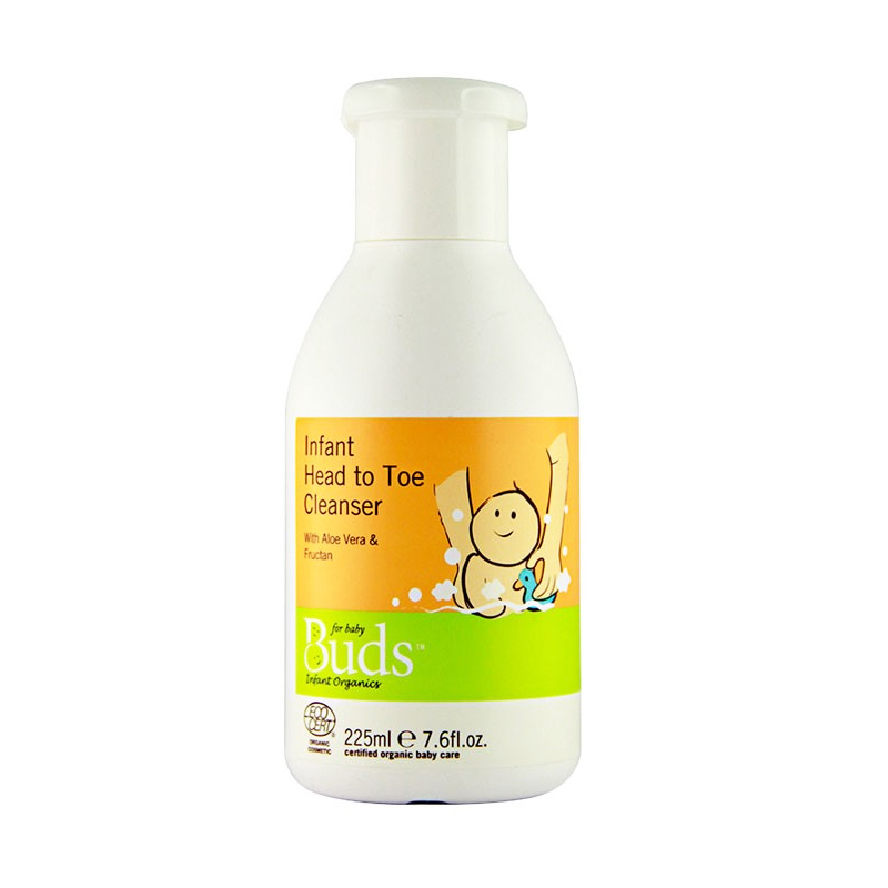 Buds Organics Infant Head To Toe Cleanser [225 mL]