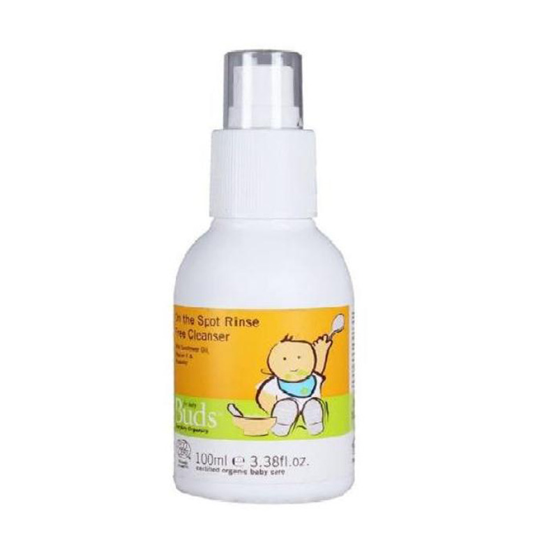 Buds Organics On the Spot Rinse Free Cleanser