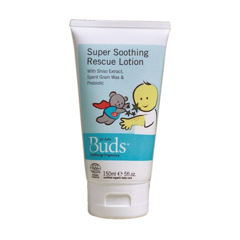 Buds Organics - Super Soothing Rescue Lotion 150ml - Lotion Penyembuh Eczema Organik