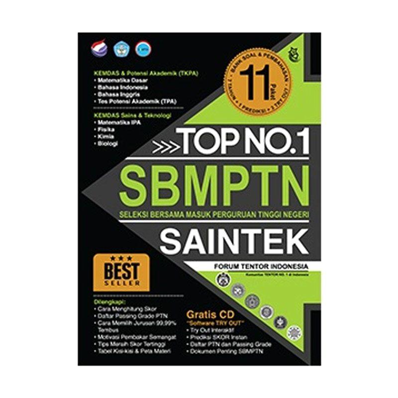 Top No. 1 SBMPTN Saintek 2015 by Dedi Gunarto Buku Pendidikan