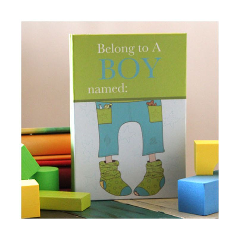 Buku Unik Belong To A Boy - Buku Catatan