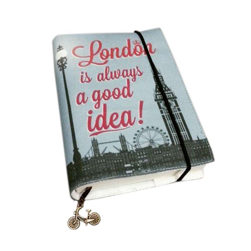 Bukuunik London Is Always A Good Idea Fabric Book Buku Catatan