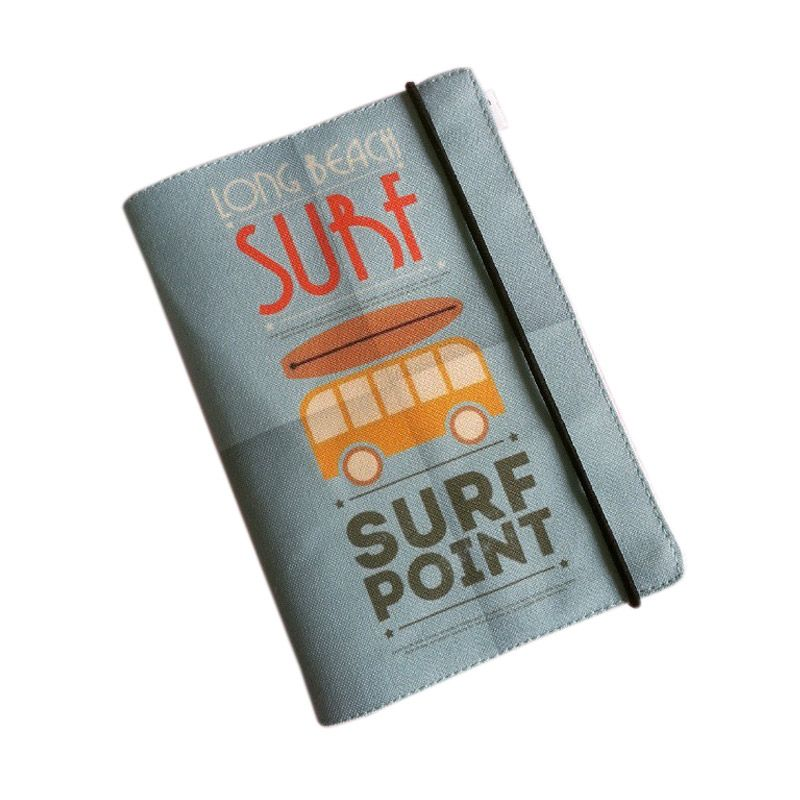 Bukuunik Surf Point Fabric Book Buku Catatan