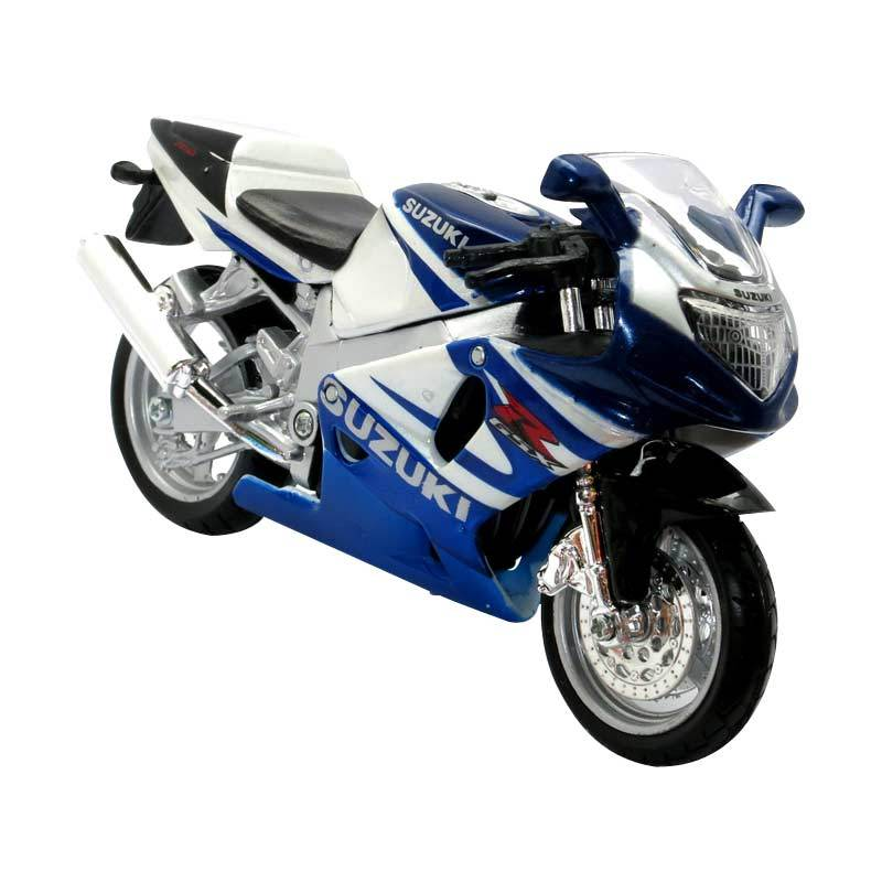 Bburago - 1:18 Cycle Collection Assorted - Suzuki GSX-R750