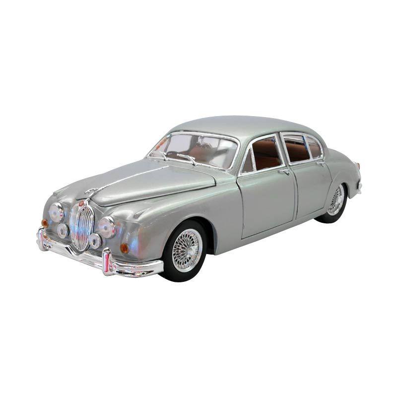 Bburago - 1:18 Gold - Jaguar Mark II (1959) - Silver