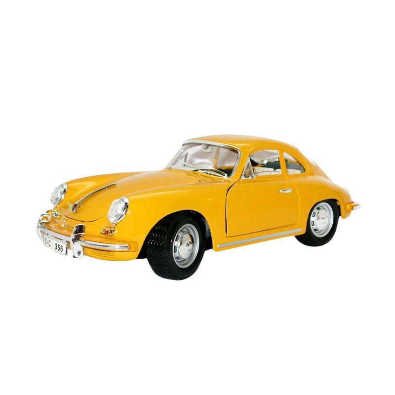 Bburago - 1:18 Gold - Porsche 356B Coupe - Yellow