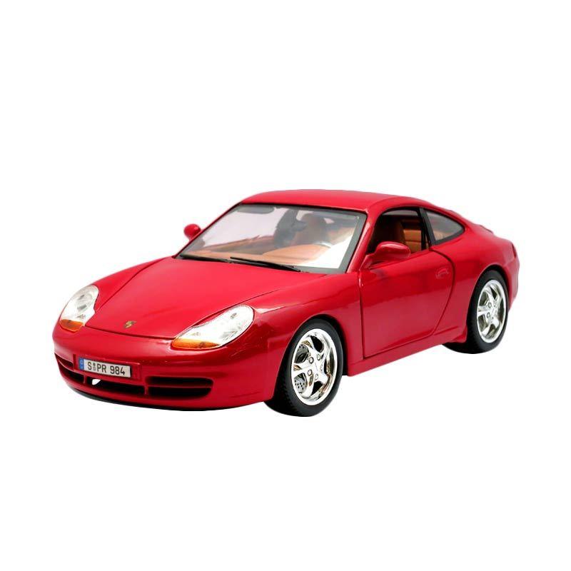 Bburago - 1:18 Gold - Porsche 911 Carrera - Red
