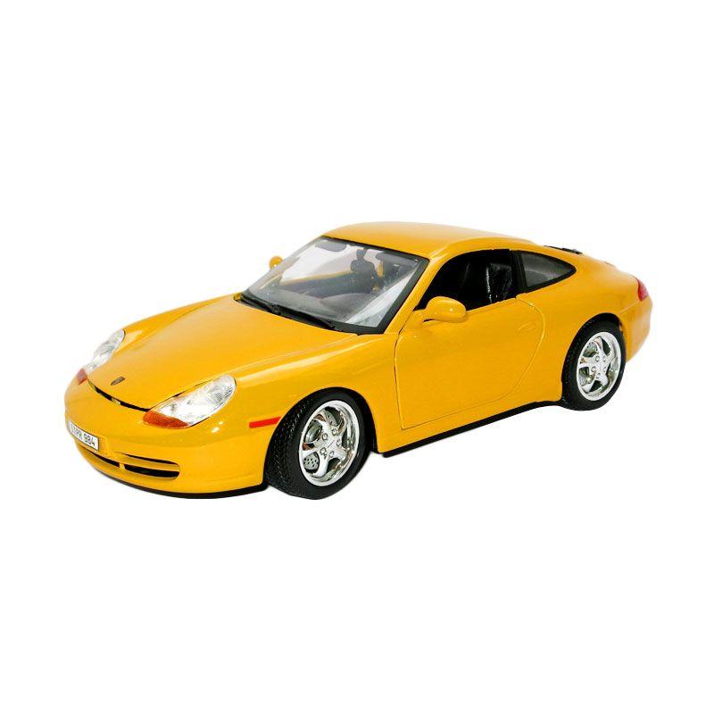 Bburago - 1:18 Gold - Porsche 911 Carrera - Yellow