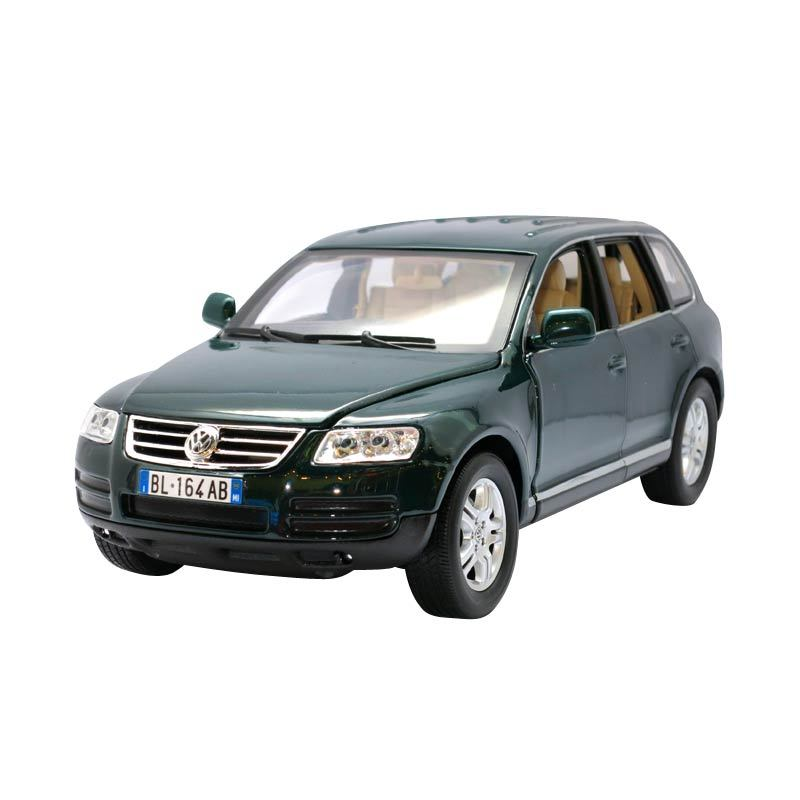 Bburago - 1:18 Gold - VW Touareg - Green