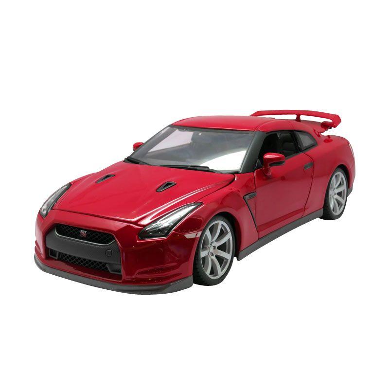Bburago - 1:18 Nissan GT-R (2009) - Red
