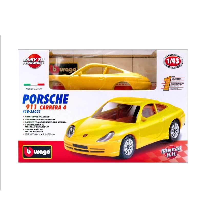 Bburago - 1:43 Kit Collezione Assorted - Porsche 911 Carrera 4