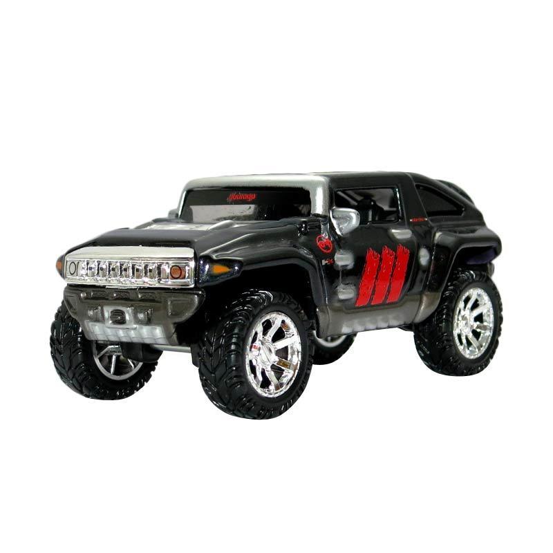 Bburago - 1:43 Street Tuners Ast. - Hummer HX - Black