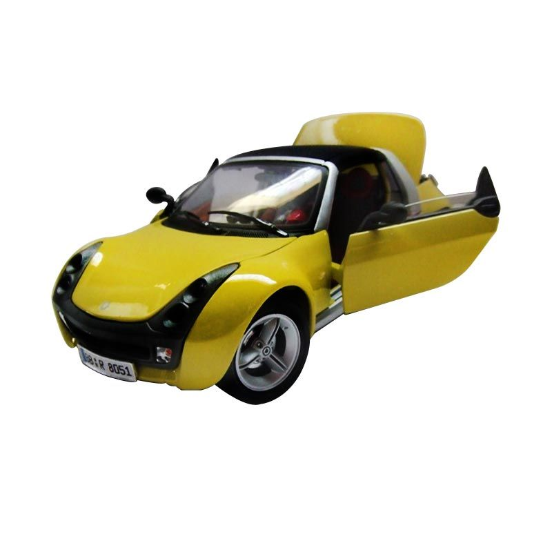 Bburago - 1:18 Gold - Smart Roadster Coupe