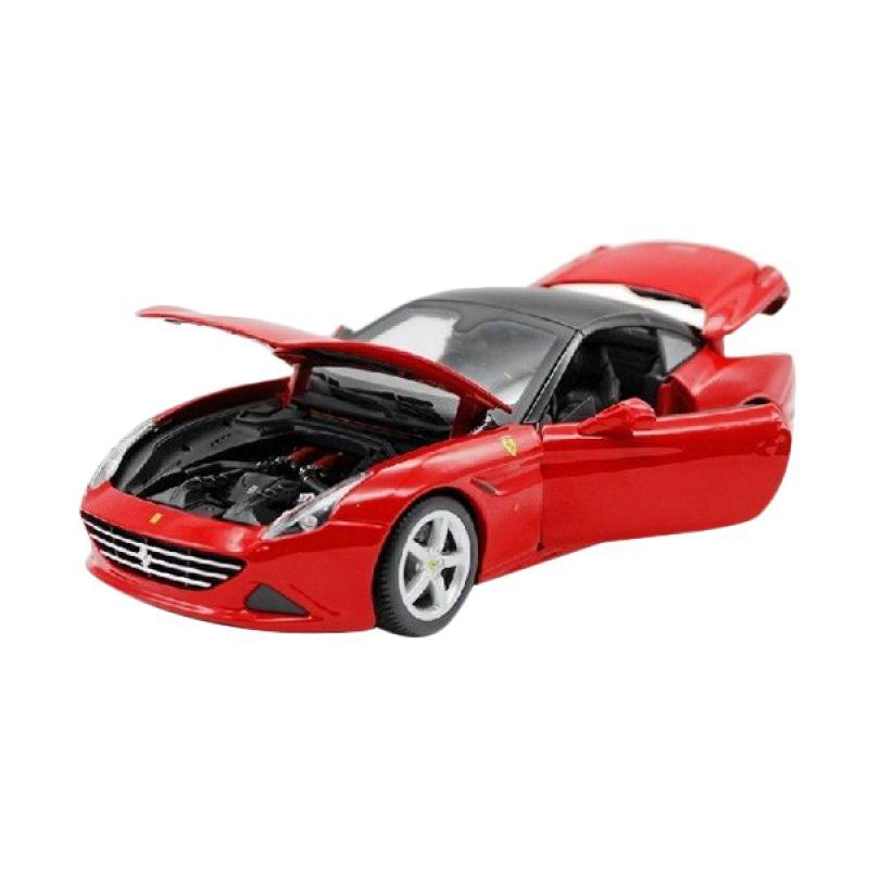 Bburago Ferrari California T Closed Top Red Diecast [1:18]