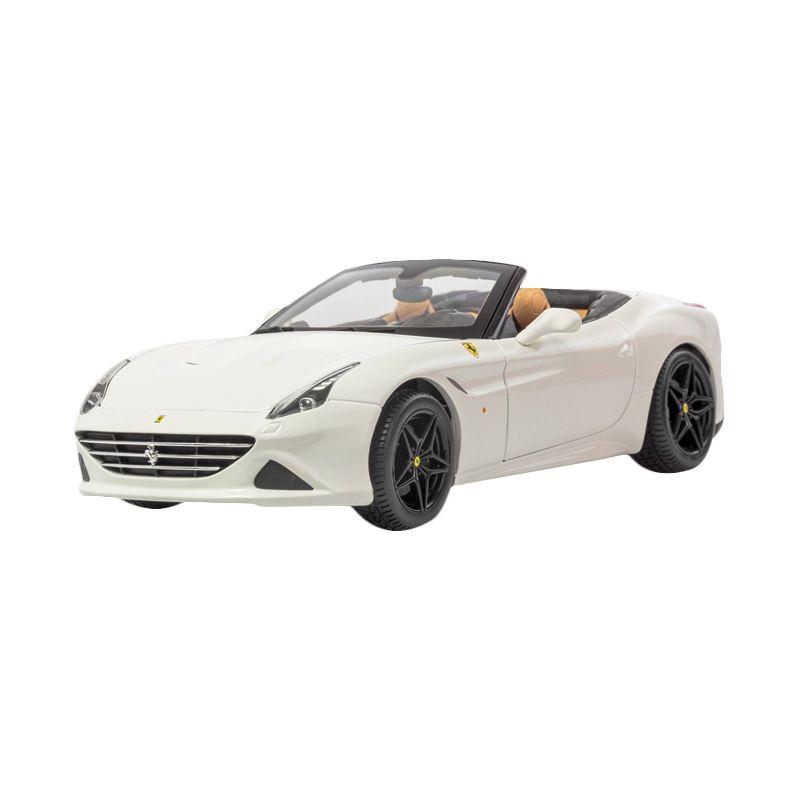 Bburago Ferrari California T Open Top White Diecast [1:18]